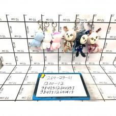Мягкие игрушки Брелок 12 шт. в блоке, 1200 шт. в кор. 1264-29-41