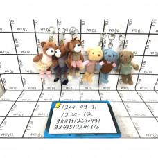 Мягкие игрушки Брелок 12 шт. в блоке, 1200 шт. в кор. 1264-49-31