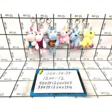 Мягкие игрушки Брелок 12 шт. в блоке, 1200 шт. в кор. 1264-34-35