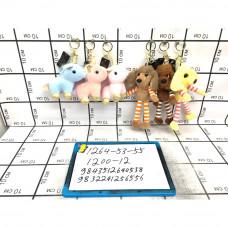 Мягкие игрушки Брелок 12 шт. в блоке, 1200 шт. в кор. 1264-53-55