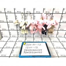 Мягкие игрушки Брелок 12 шт. в блоке, 1200 шт. в кор. 1264-30-32