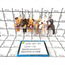 Мягкие игрушки Брелок 12 шт. в блоке, 1200 шт. в кор. 1264-45-40