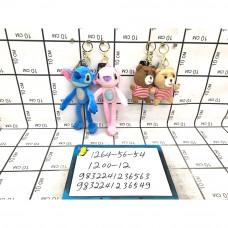 Мягкие игрушки Брелок 12 шт. в блоке, 1200 шт. в кор. 1264-56-54