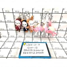 Мягкие игрушки Брелок 12 шт. в блоке, 1200 шт. в кор. 1264-11-7