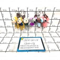 Мягкие игрушки Брелок 12 шт. в блоке, 1200 шт. в кор. 1264-21-14