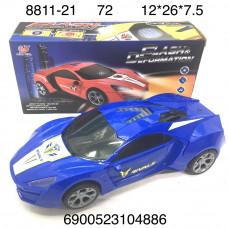 8811-21 Машина (свет, звук) 72 шт в кор.