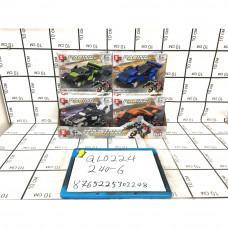 Конструктор Гонки 6 шт. в блоке, 240 шт. в кор. QL0224