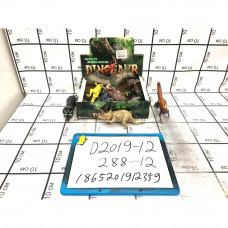 Динозавры 12 шт. в блоке, 288 шт. в кор. D2019-12