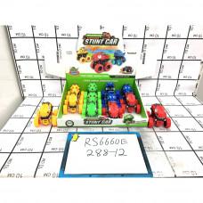 Машинки Вездеход Дино 12 шт. в блоке, 288 шт. в кор. RS6660E