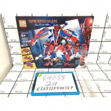 Конструктор Супергерои 430 дет., 24 шт. в кор. 64035