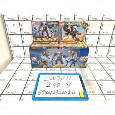 Конструктор Супергерои 8 шт в блоке, 240 шт в кор. LW2011
