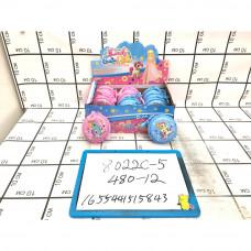 Кукла в шаре Сумочки 12 шт. в блоке 480 шт в кор. 8022C-5