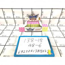 Кубик-рубик 6 шт. в блоке, 48 шт. в кор. 138-15
