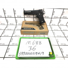 Пистолет с пульками (металл), 36 шт. в кор. M688