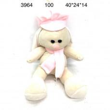 3964 Мягкая игрушка Зайка 100 шт в кор.