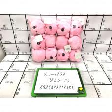 Мягкие игрушки Свинки 12 шт. в блоке, 800 шт. в кор. XJ-1737