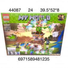 44087 Конструктор Герои из кубиков 822 дет., 24 шт. в кор.