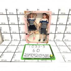 Куклы 2 шт. в наборе, 60 шт. в кор. 1033-3