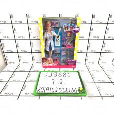 Кукла с аксессуарами, 72 шт. в кор. JJ8686