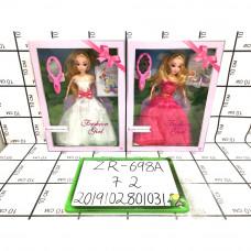Кукла с аксессуарами, 72 шт. в кор. ZR-698A
