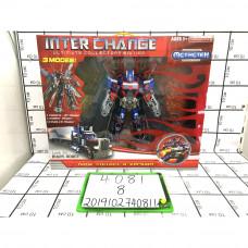 Робот Трансформер, 8 шт. в кор. 4081