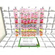 Заколочки на волосы Фрукты 10 шт. в блоке, 300 блоке. в кор. MD-934