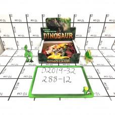 Динозавры 12 шт. в блоке,  288 шт в кор. D2019-32