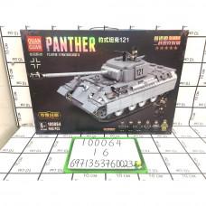 Конструктор Танк 990 дет., 16 шт. в кор. 100064