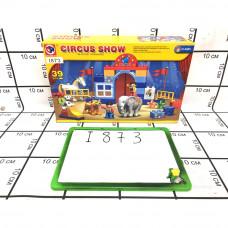 Конструктор для малышей Цирк 39 дет., I873