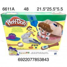 "6611A Набор для лепки ""Стоматолог"", 48 шт. в кор."