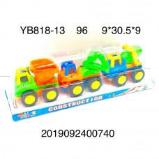 Машинки 3 шт. в наборе, 96 шт. в кор. YB818-13