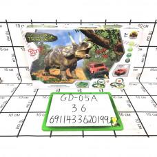 Динозавр Трек набор, 36 шт. в кор. GD-05A