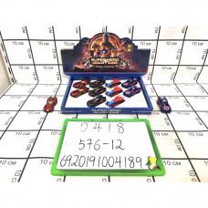 Модельки Супергерои 12 шт. в блоке, 576 шт. в кор. 0418