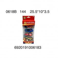 Машинки Супергерои 4 шт. в наборе, 144 шт. в кор. 0618B