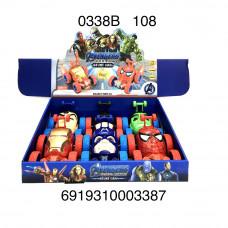 Машинки Суперегерои 6 шт. в блоке, 108 шт. в кор. 0338B