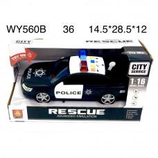 WY560A Машинка Полиция (свет, звук), 36 шт в кор.