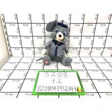 Мягкая игрушка Мышка (муз.), 72 шт. в кор. 8208