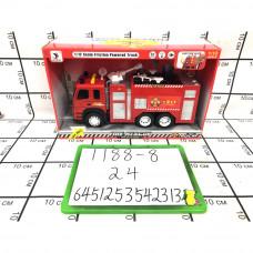 Пожарная машина (свет, звук), 24 шт. в кор. 1188-8