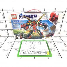 Конструктор Супергерои 322 дет., 36 шт. в кор. 64049