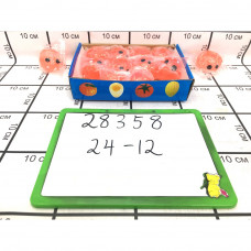 Водный мяч Свинка 12 шт в блоке, 24 шт в кор. 28358