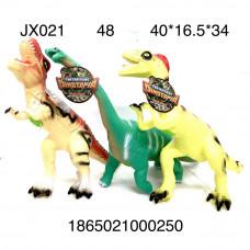 JX021 Динозавры (свет, звук), 48 шт. в кор.