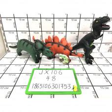 Динозавры (звук), 48 шт. в кор. JX106