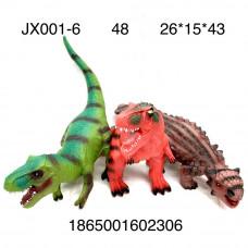 JX001-6 Динозавры (свет, звук), 48 шт. в кор.