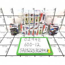 Конструктор Адвентурес 12 шт. в блоке, 600 шт. в кор. 0294E