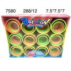 7580 Пружинка-Радуга 12 шт. в блоке,24. в кор.