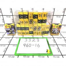 Конструктор Бэтмен 16 шт. в блоке, 960 шт. в кор. 3323