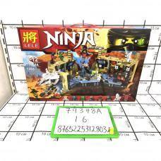 Конструктор Ниндзя 1303 дет., 16 шт. в кор. 79348