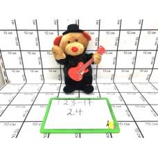 Мягкая игрушка Мишка с гитарой 24 шт в кор. 123-17