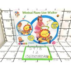Музыкальная каталка для малышей от 0-36 мес., 12 шт. в кор. S918