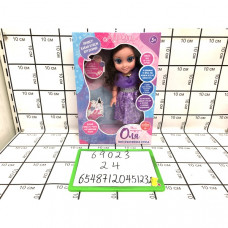 Кукла Оля интерактивная, 15 фраз, сказки, песенки, диктофон. 24 шт в кор. 69023